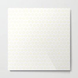 EMPTY DOT ((bumblebee)) Metal Print