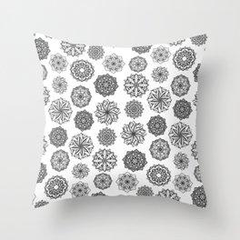 Mandala Mix Throw Pillow