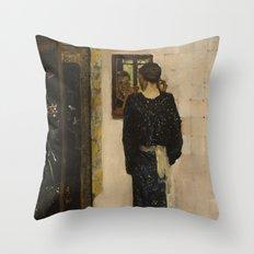 George Hendrik Breitner - The Earring, 1893 Throw Pillow