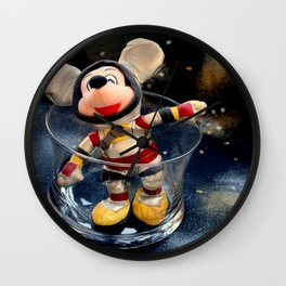 Lost In Space Mickey - Found Again Wall Clock