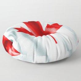 Canada Flag Floor Pillow