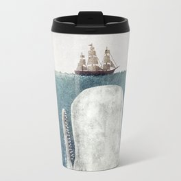 The Whale - vintage  Metal Travel Mug