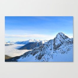 Mountain Peak Canvas Print