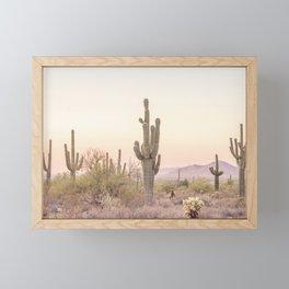 Arizona Desert Framed Mini Art Print