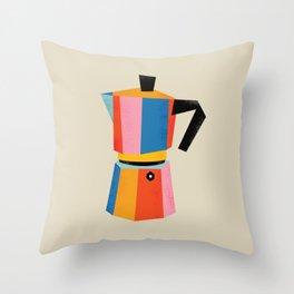 Multicolor Moka Throw Pillow