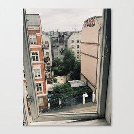 Vesterbro Window Canvas Print