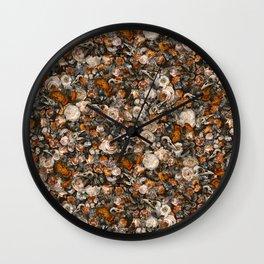 Baroque Macabre Wall Clock
