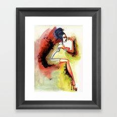 rb Framed Art Print