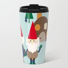 gnome blue Travel Mug