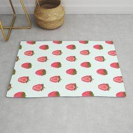 Strawberry Pattern Rug