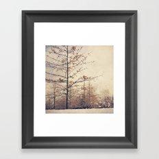 long ago Framed Art Print