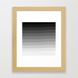 Ombré Framed Art Print