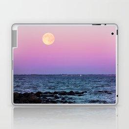Full Moon on Blue Hour Laptop & iPad Skin