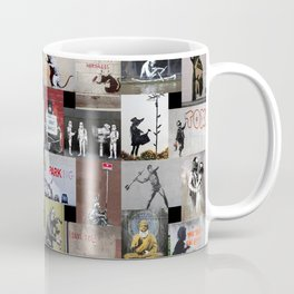 Banksy Coffee Mug