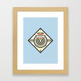 Chicago Print - The Loop Framed Art Print