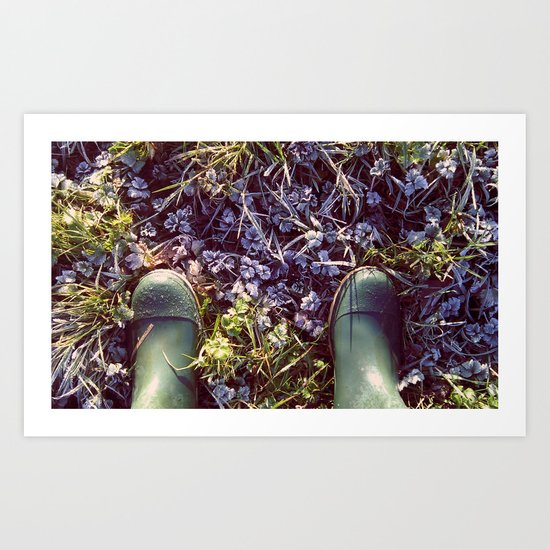 January, I love you, but you're bringing me down Art Print