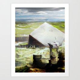 Utopian Vessel.  Art Print