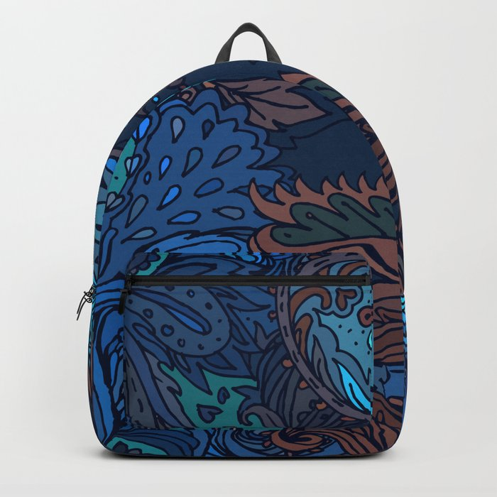 Indian Pattern 05 Backpack