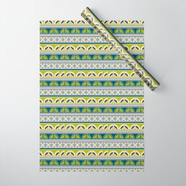 Contemporary stripes Wrapping Paper