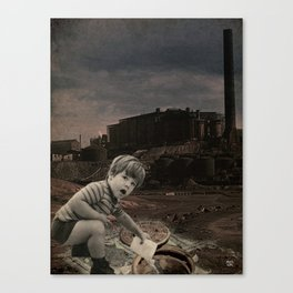 watch out for vandals Canvas Print