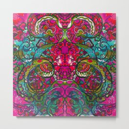 Kaleidoscope Eyes Metal Print