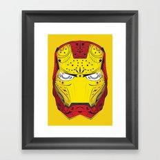 Sugary Iron Man Framed Art Print