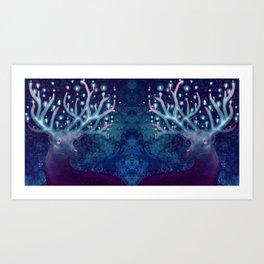 Ciervo Art Print