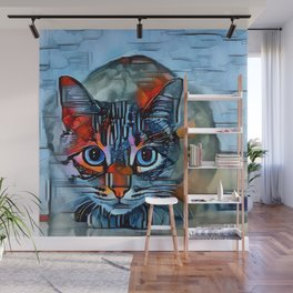 Watchful Wall Mural