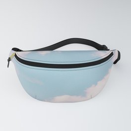 Every Cloud Has a Pink Lining Fanny Pack