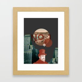No.1 Framed Art Print