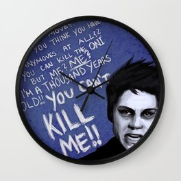Void!Stiles  (Teen Wolf) Wall Clock