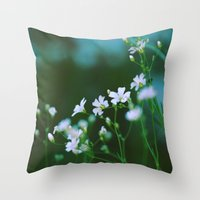 forever young Throw Pillows featuring Forever Young by Alisha Greenlaw