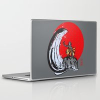 aang Laptop & iPad Skins featuring Aang in the Avatar State by Tom Ledin
