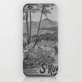retro classic PLM St Honore poster iPhone Case