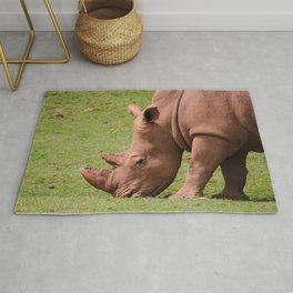 White rhinoceros Rug