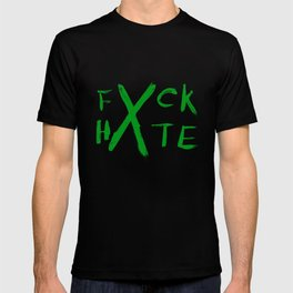 FXCK HXTE - Green Paint T-shirt