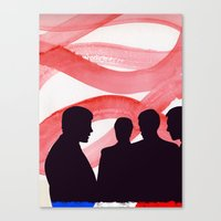 godard Canvas Prints featuring Godard  by John Murphy