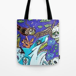 Dark Tide Tote Bag