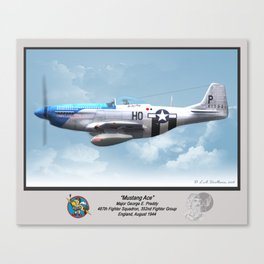 Mustang Ace Canvas Print