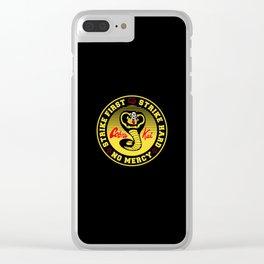 Cobra Kai Karate Clear iPhone Case