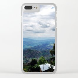 Land of a Thousand Hills Clear iPhone Case