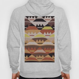 African Tribal Pattern No. 27 Hoody