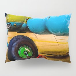 Landing Wheel Of A Military Attack Helicopter Pillow Sham