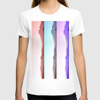 skyline T-shirts featuring Skyline by Augustina Trejo