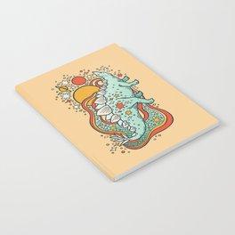 Star Stego | Retro Reptile Palette Notebook