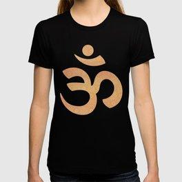Indian Summer Mandala Copper T-shirt