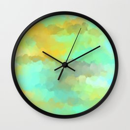 Sunset Water Wall Clock