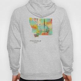 Montana state map  Hoody