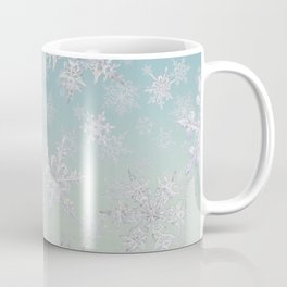 Frosty Day - Snowflakes Coffee Mug