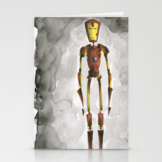 I am IronMan Stationery Cards